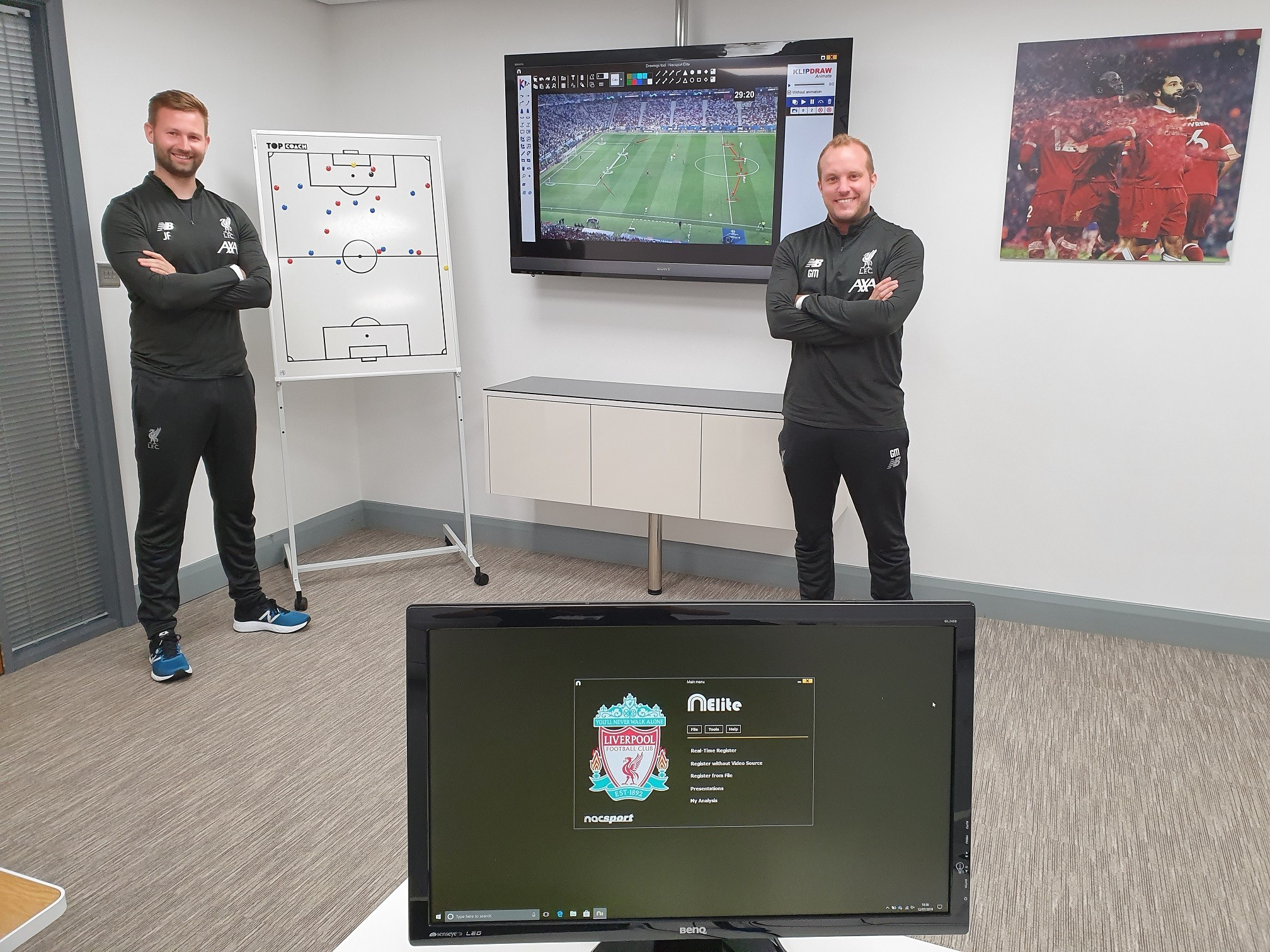 Nacsport and Sportscode Together at Liverpool FC