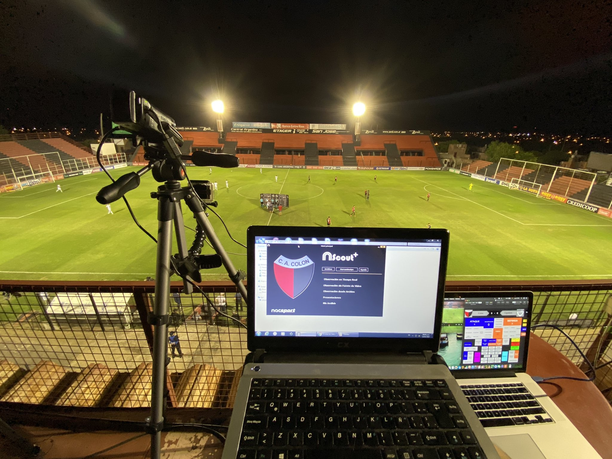 Nacsport and Sportscode Colón Analysis Set Up