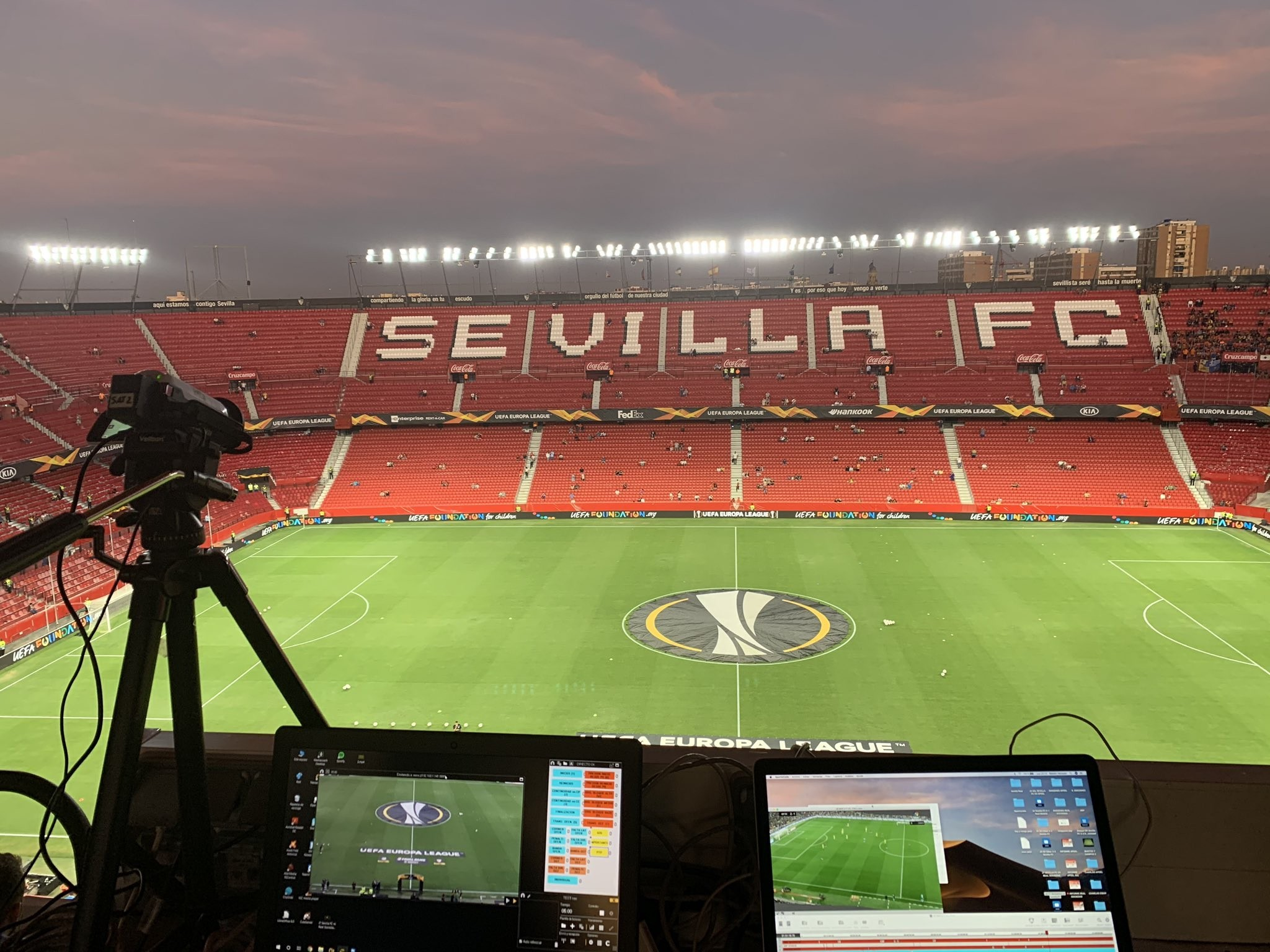 Nacsport and Sportscode at Sevilla FC