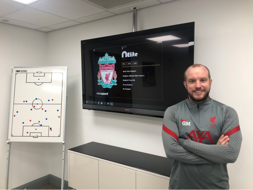 Type of video analyst - 1 - Greg Mathieson, Liverpool FC