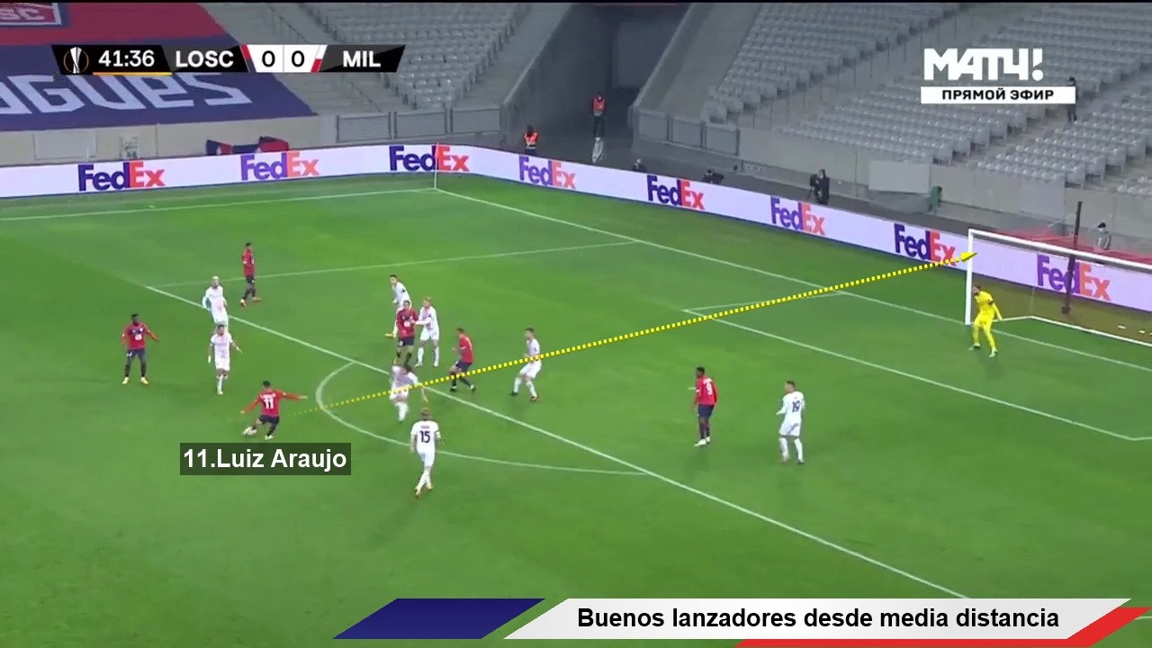 Tactical Analysis Lille Christophe Galtier 11