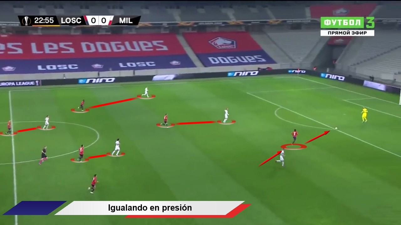 Tactical Analysis Lille Christophe Galtier 18