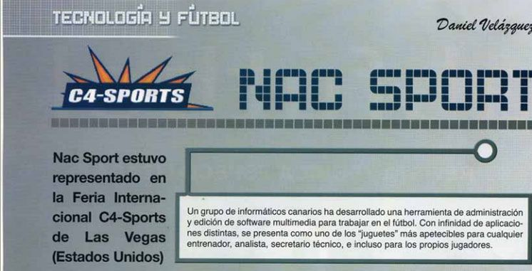 Technology and football: brief description of Nacsport scouting products