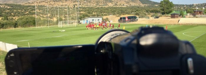 How does Atletico de Madrid Academy's Department of Analysis work?