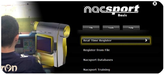 Real time capture and register with Nacsport