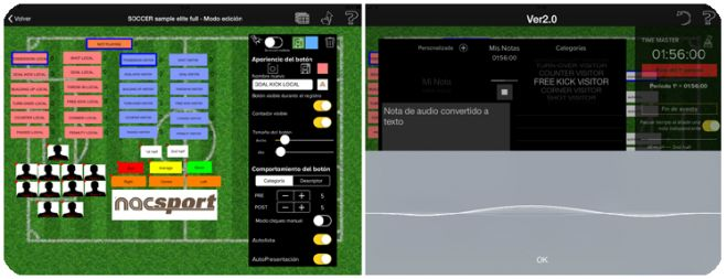 Nacsport Tag&go 2.0 update available