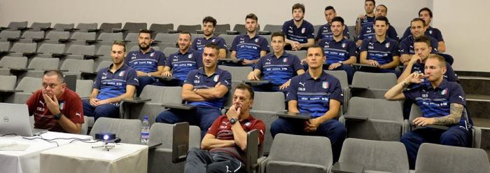 Video analysis for the Italian futsal team
