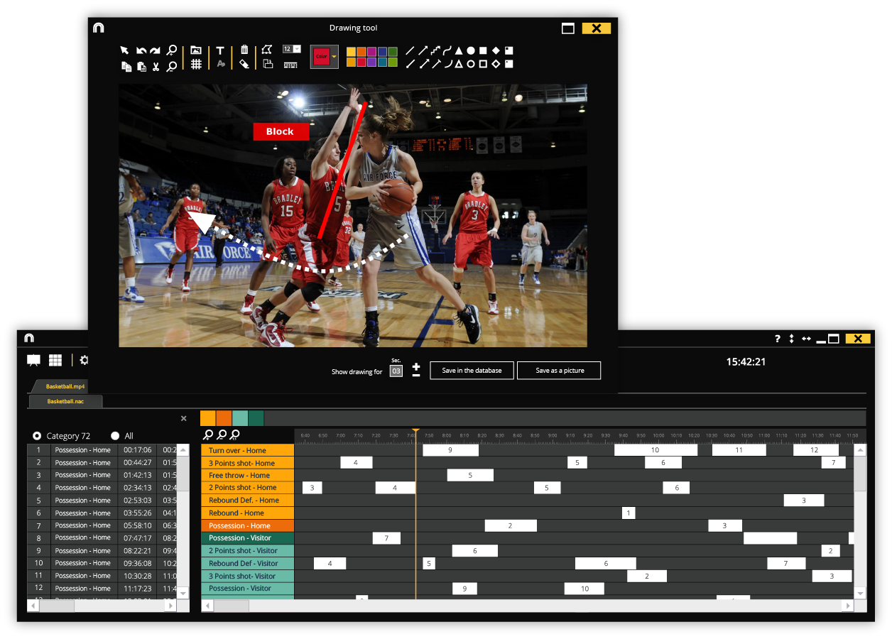 Open presentations with nacsport Viewer
