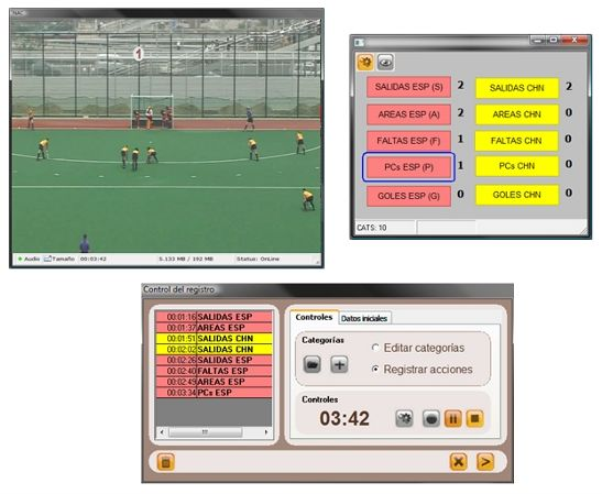 Nacsport Screen shot