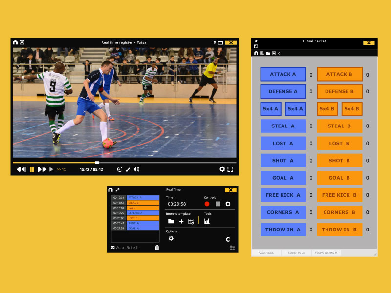 Nacsport sports video analysis software